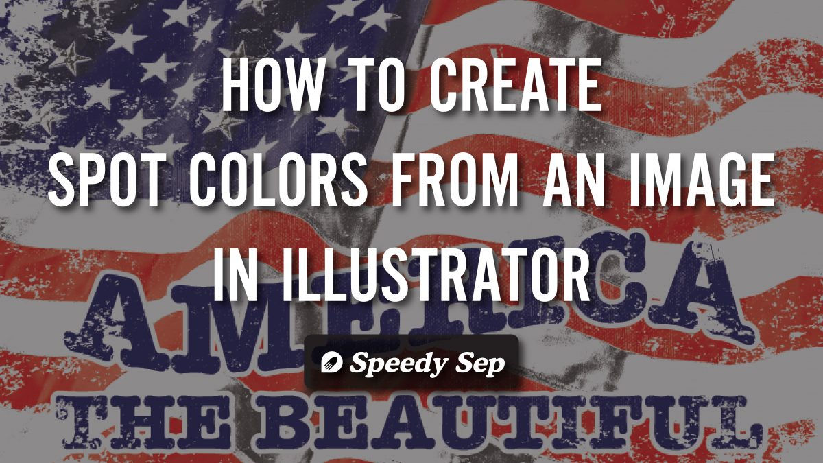 How to Create Color Spots From Images in Illustrator and Photoshop