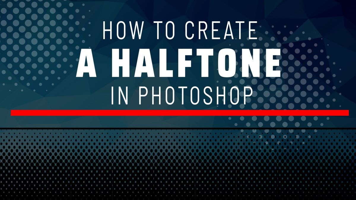 How to create a halftones in Photoshop | illustration | Vector Art