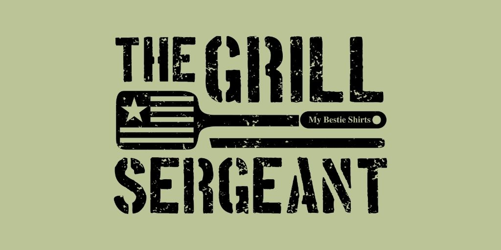 """Design featuring """"The Grill Sergeant"""" typography"""